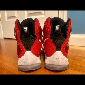 Nike Shoes - Nike Lebron XIII Red Basketball Shoe